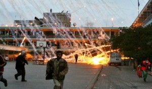Israeli phosphorous attack on UN school in Gaza